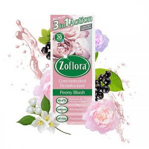Zoflora Concentrated Disinfectant, 500ml – Peony Blush