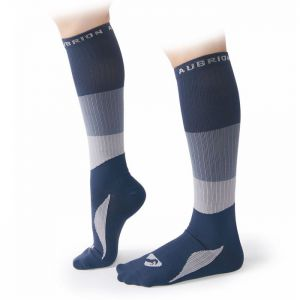 Shires Aubrion Women's Perivale Compression Socks - Navy