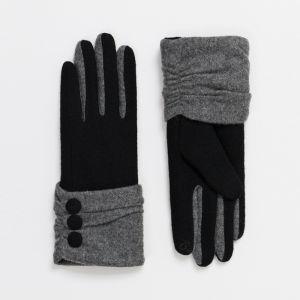 Pia Rossini Women's Eimear Gloves – Black / Grey