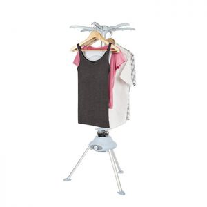 Pifco Fast Drying Portable Heated Clothes Airer, 1200W - White