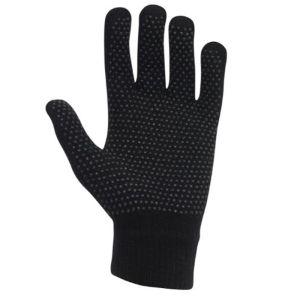 Dublin Roma Adults Pimple Grip Gloves - Black