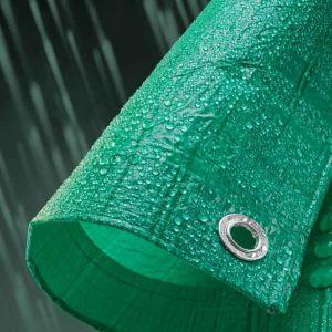 Tarpaflex Economy Tarpaulin, Green - 3.5m x 5.4m