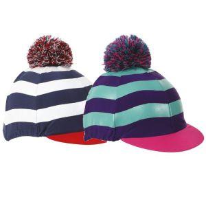 Shires Striped Pom Pom Hat Cover