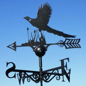 Poppy Forge Pheasant Weathervane
