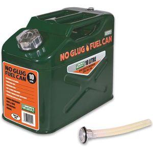 Portek No Glug Fuel Can - 10 Litres