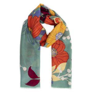 Powder Designs Printed Scarf - Autumn Floral