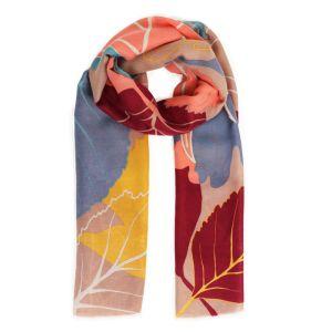 Powder Designs Printed Scarf - Autumn Leaves