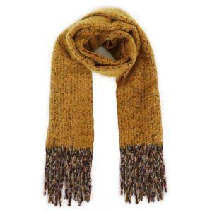 Powder Designs Sandie Knitted Scarf - Mustard