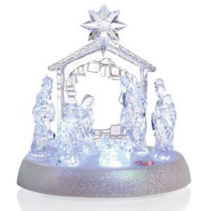 Premier LED Musical Christmas Nativity Scene
