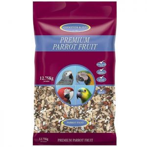 Johnston and Jeff Parrot Fruit Mix - 12.75kg