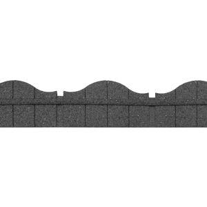 Primeur Ultra Curve Rubber Border Edging, 1.2m – Carolina Grey