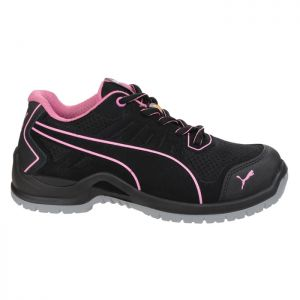Puma Women's Fuse Technic Safety Trainers - Black/Pink