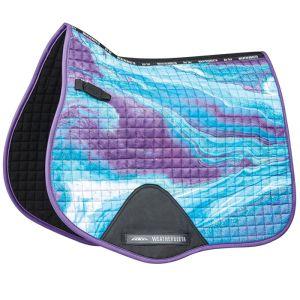Weatherbeeta Marble All Purpose Saddle Pad – Purple