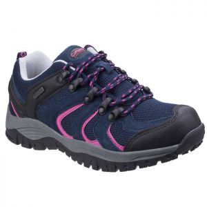 Cotswold Women's Stowell Low Lace Up Walking Shoes - Blue