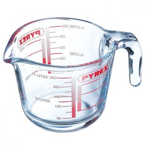 Pyrex Classic Glass Measuring Jug - 0.25 Litre
