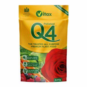 Vitax Q4 Pellet Plant Food Pouch - 0.9kg