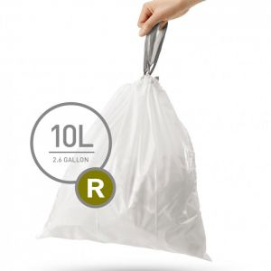 Simplehuman Sure Fit 'R' Bin Liner 10 Litre- 20 Pack