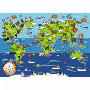 Ravensburger 60 Piece Animals of the World Jigsaw