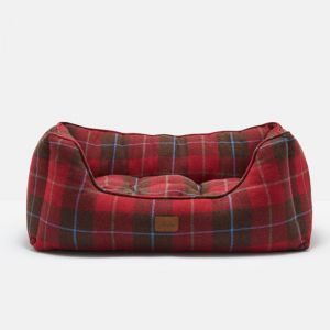 Doggy Joules Square Bed - Tweed