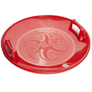Round Snow Disc Sledge - Red