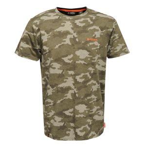 Regatta Dense T-Shirt - Dark Khaki Marl