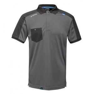 Regatta Offensive Moisture Wicking Polo Shirt - Seal Grey