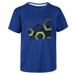 Regatta Children's Alvardo V Graphic T-shirt – Nautical Blue