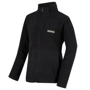 Regatta Children's King II Lightweight Full Zip Fleece - Black