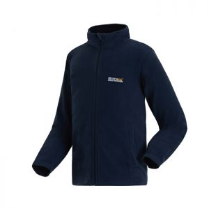 Regatta Children's King II Lightweight Full Zip Fleece - Navy