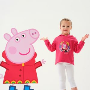 Regatta Children's Peppa Pig Hoody – Bright Blush