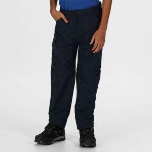 Regatta Children's Sorcer II Zip Off Trousers - Navy
