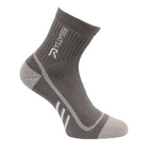 Regatta Ladies' 3 Season Trek & Trail Heavyweight Socks – Granite & Yucca Grey