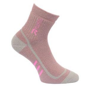 Regatta Ladies' 3 Season Trek & Trail Heavyweight Socks – Twilight Mauve & Raspberry Rose