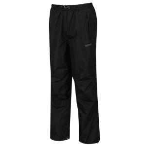 Regatta Men's Chandler III Breathable Waterproof Overtrousers - Black