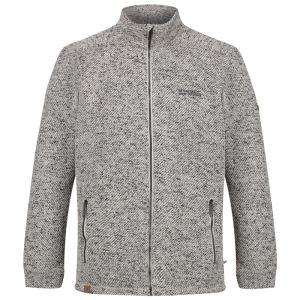 Regatta Men's Garret Heavyweight Knitted Full Zip Fleece – Irish Cream