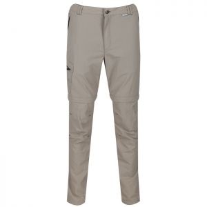 Regatta Men's Leesville II Zip Off Walking Trousers - Parchment