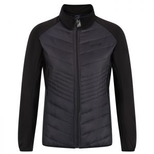 Regatta Women's Clumber Hybrid Quilted Walking Jacket – Ash Black