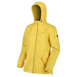 Regatta Women's Lilibeth Lightweight Waterproof Jacket – Yellow Sulphur