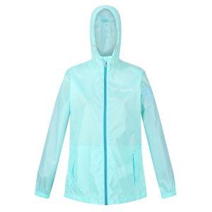 Regatta Women's Pack-It Jacket III Waterproof Packaway Jacket – Cool Aqua