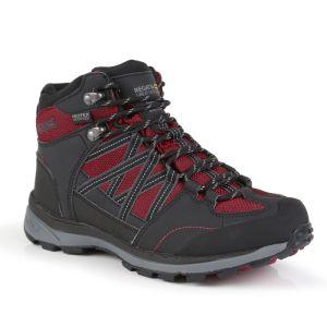 Regatta Women's Samaris II Mid Walking Boots – Beetroot/Ash