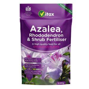 Vitax Azalea Rhododendron + Shrub Fertiliser - 0.9kg