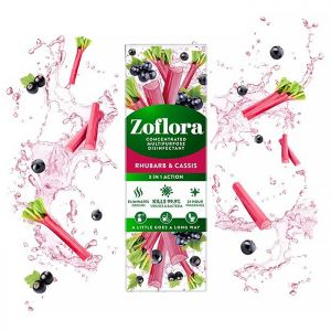 Zoflora Concentrated Disinfectant, 250ml – Rhubarb & Cassis