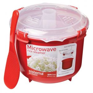 Sistema Microwave Rice Steamer - Red