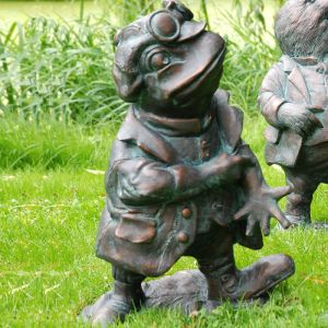 Home & Garden Wind in the Willows Garden Ornament - Mr Toad