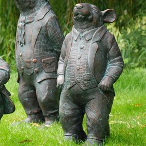 Home & Garden Wind in the Willows Garden Ornament - Ratty