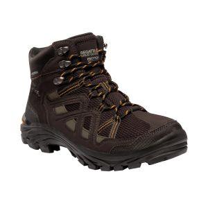 Regatta Men's Burrell II Walking Boots - Peat / Treetop
