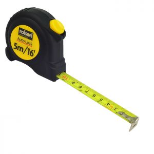 Rolson Protect Tape Measure - 5m