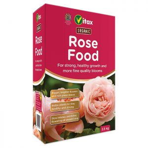 Vitax Organic Rose Food - 2.5kg
