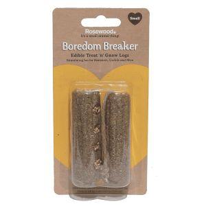 Rosewood Boredom Breaker Treat 'n' Gnaw Logs – Small