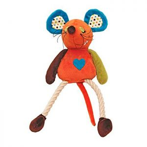 Rosewood Mister Twister Plush Rope Dog Toy – Millie Mouse